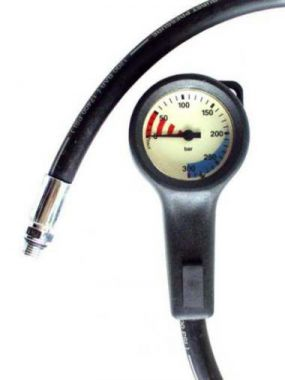 21 - G01SD - Performance Diver - Pressure Gauge - Ultra Low Profile