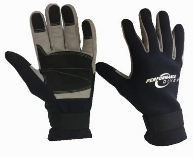 G12AB Performance Diver Cray Gloves B