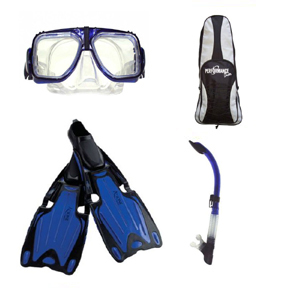 MF5NCB - MX10 / S12B / Azione Fins / Deluxe Bag Set