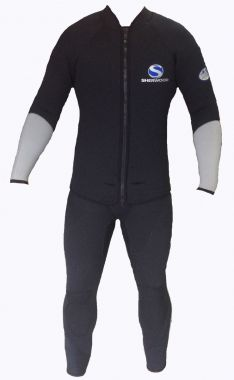 WSMG - Sherwood - Titanium 5mm 2 Piece Male Wetsuit