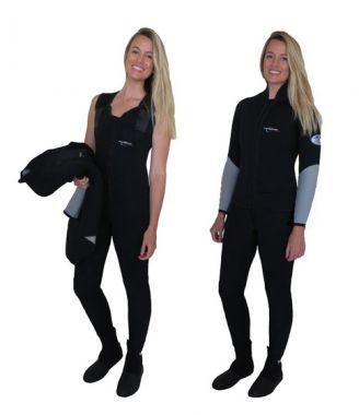 WSFP-Performance Diver 5mm 2 Piece Ladies Wetsuit