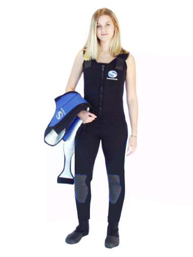 WSF - Sherwood - Titanium 5mm 2 Piece Female Wetsuit