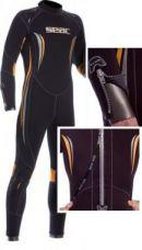 WSS - Seac Sub - Skinflex Mens 5mm semi dry wetsuit