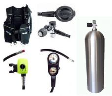 ST03BNCT - Pro 1000 / Brut / Aluminium Cylinder Set