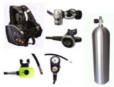 ST06APNCT- Atlas BCD / P600 / Aluminium Cylinder Set